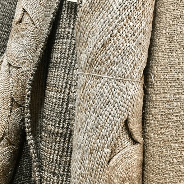 jute rug fabric protection