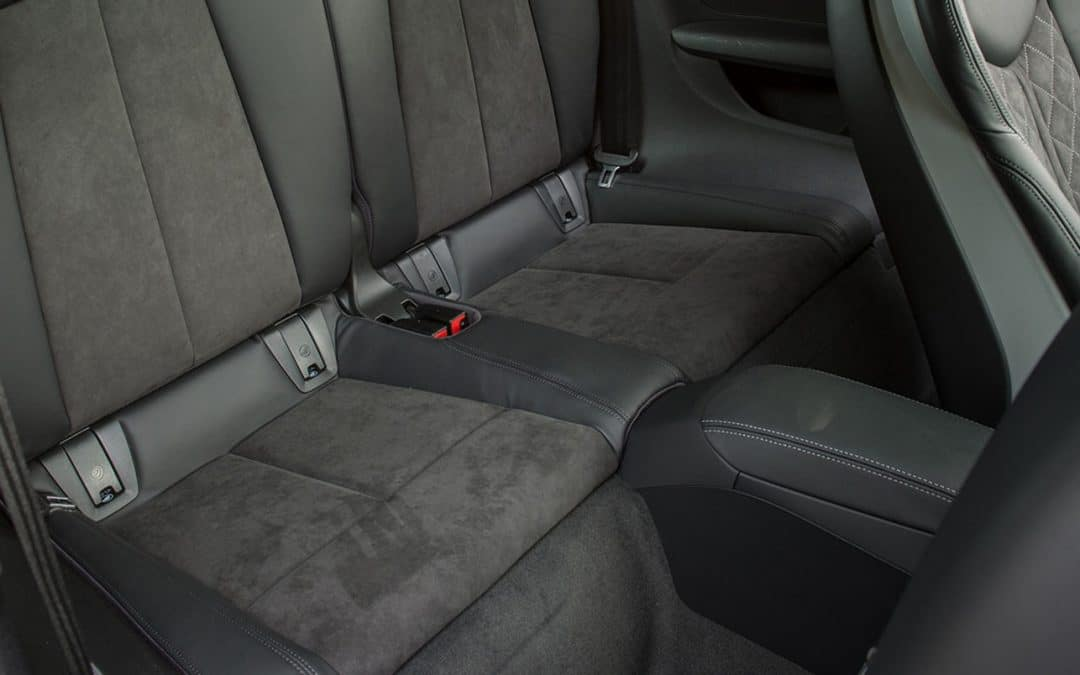 Alcantara car seats: why clean when you can protect?