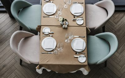 Upholstered dining chairs: The solution to keeping them stain free